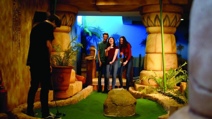 Paradise Island Mini Golf Brighton Pier Group