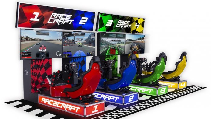 Tecnoplay Racecraft Coinslot