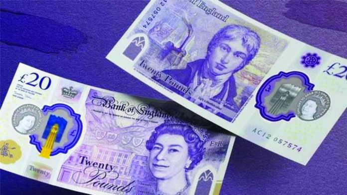 new polymer £20 note