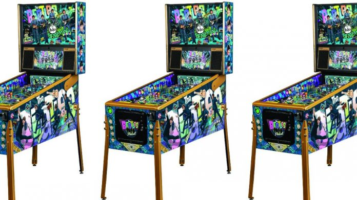 Beatles pinball design award nomination