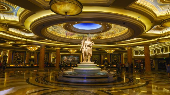 Caesars Entertainment fine