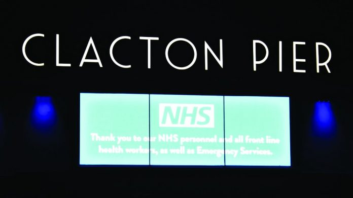 Clacton Pier NHS workers Support