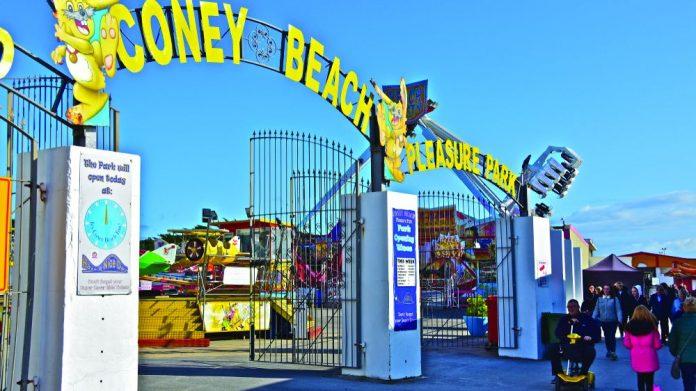 Coney Beach Porthcawl thanks NHS