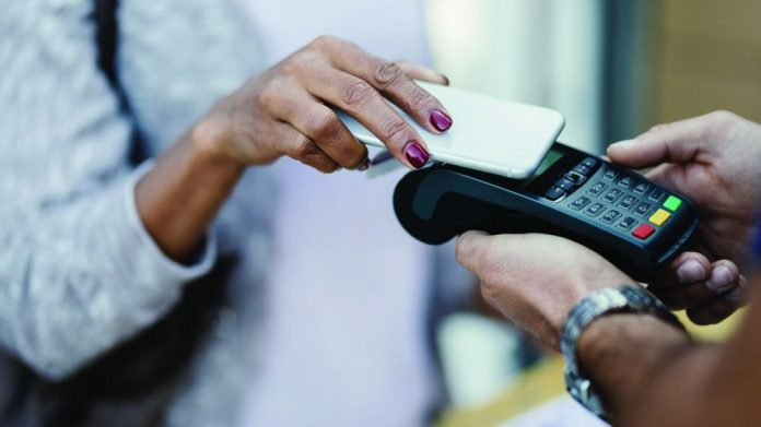Contactless payments social distancing