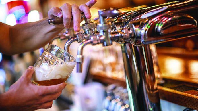 Pub reopening warning beer