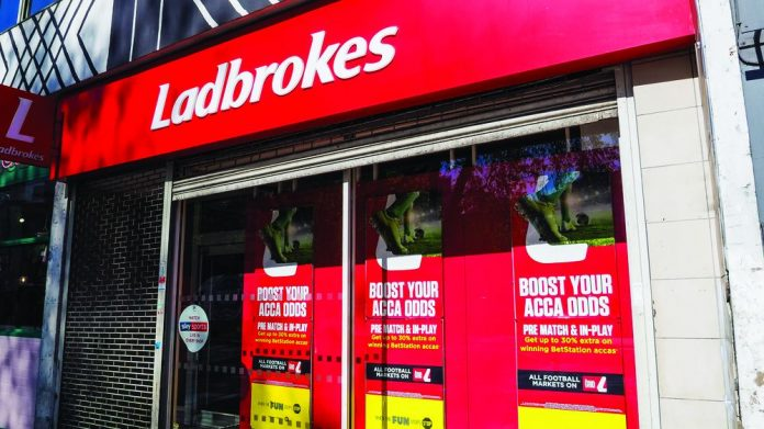 Bookmakers retail sports betting