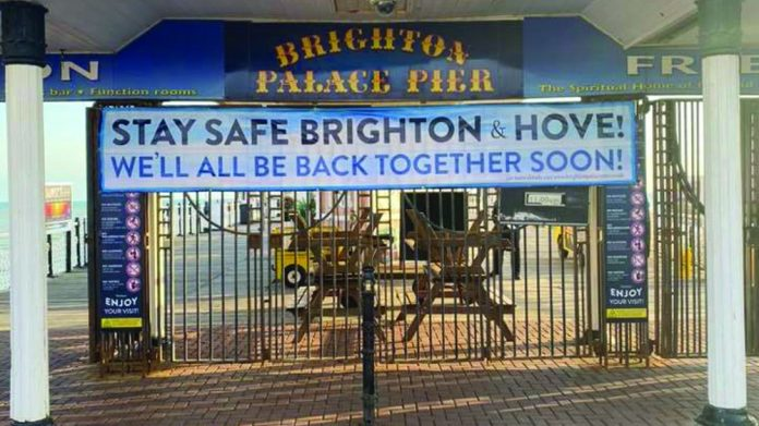 Brighton Pier closed Coinslot journeys the south coast round to the east and discovers that there's nothing normal about local policy to re-opening arcades