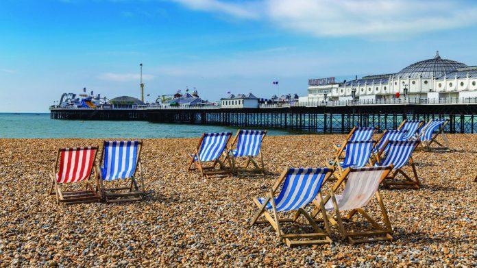 Brighton deckchairs vat tourism hospitality