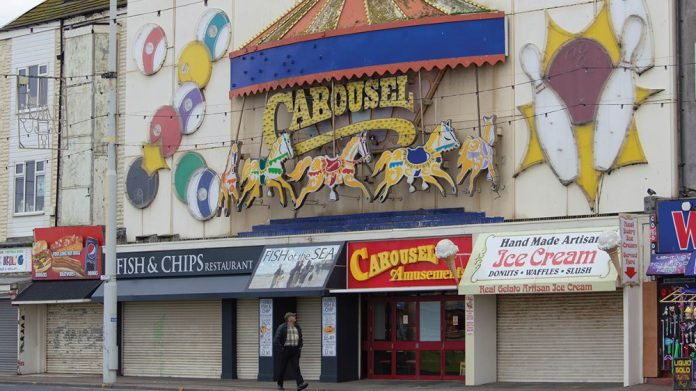 lockdown economic impact Blackpool