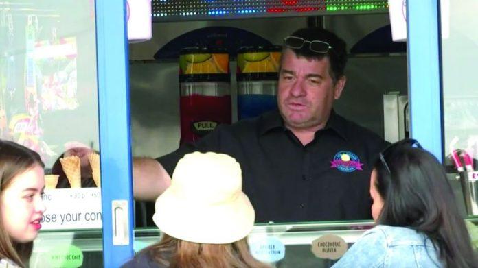 Martin Richardson Southend Seafront ice cream