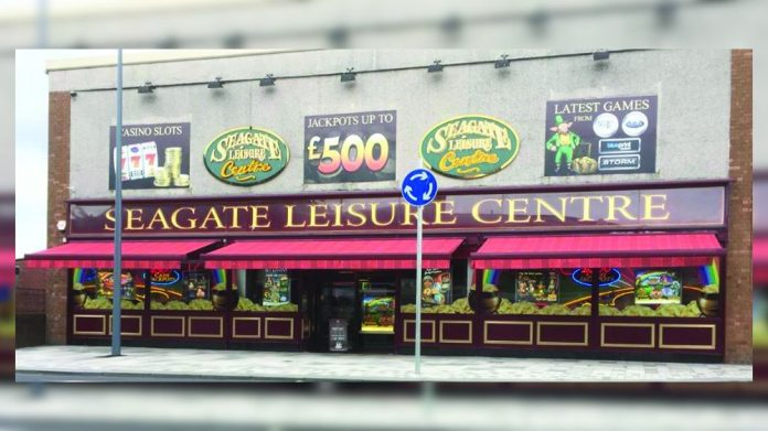 Seagate Leisure Centre Amusement arcade Irvine