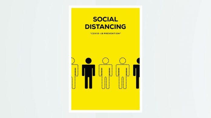 Social Distancing kite mark