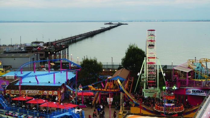 Southend seafront lockdown measures