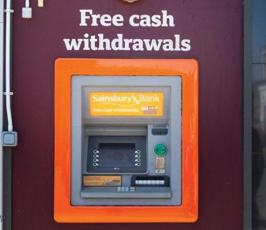 ATM Cash Machine business rates