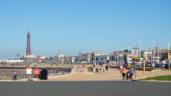 Blackpool unlock lockdown seaside economy