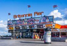 Great Yarmouth attractions Britannia Pier
