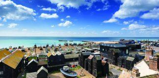 Hastings seaside covid