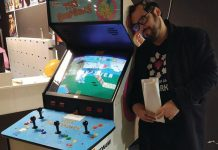 Mark Starkey Heart of Gaming independent video arcades
