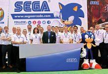 Sega Amusements International Justin Burke