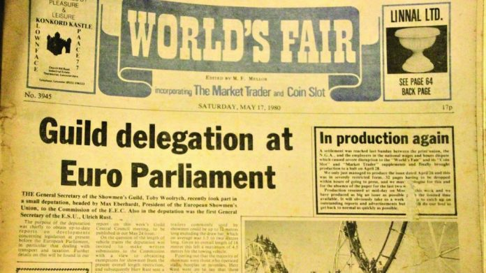 Showmen The Worlds Fair issue