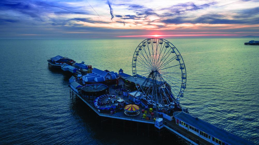 Blackpool Central Pier reopens
