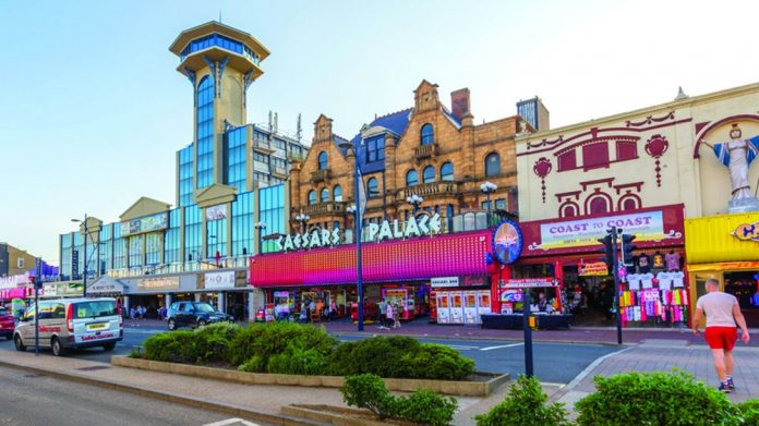 Arcades re-opening Caesars Palace Gt Yarmouth