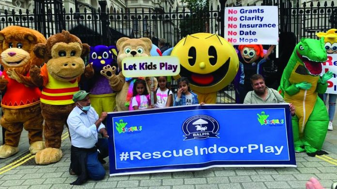 rescueindoorplay indoor play protest