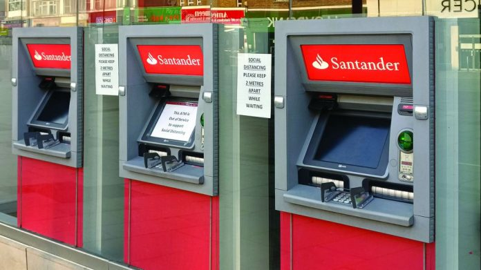 ATM use declines Cashless growth lockdown