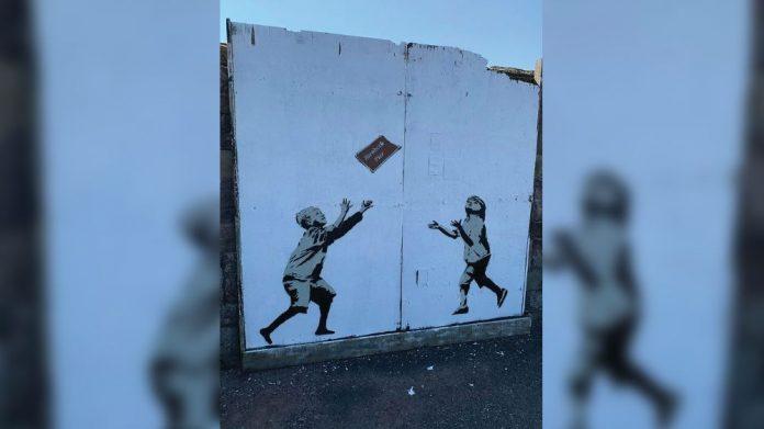 Birnbeck Banksy