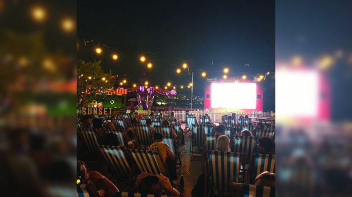Brighton Palace Pier Sunset Cinema
