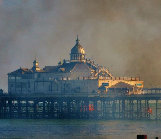Eastbourne Pier fire accidental
