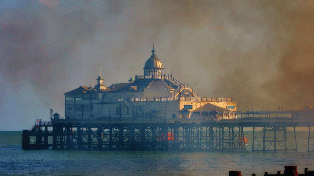 Eastbourne Pier fire accidental