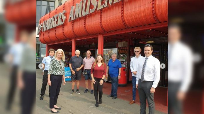 Harkers Leisure MP visit