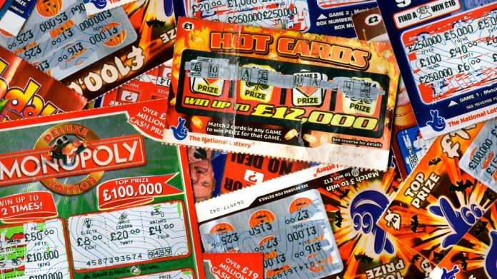 lottery scratchcard