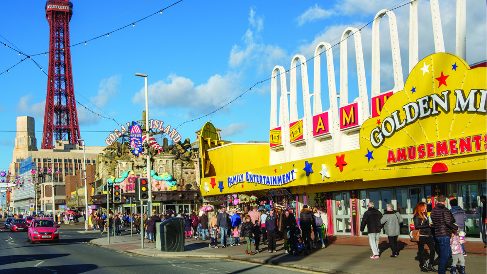 Blackpool cashless payment parking
