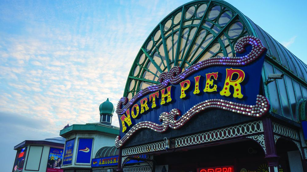 Blackpool North Pier pantomime