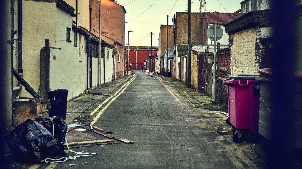 Blackpool unemployment data
