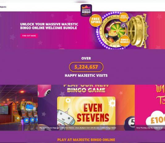 Majestic Bingo Covid-19 challenges