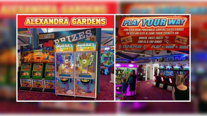 Semnox Alexandra Gardens cashless arcade payments system