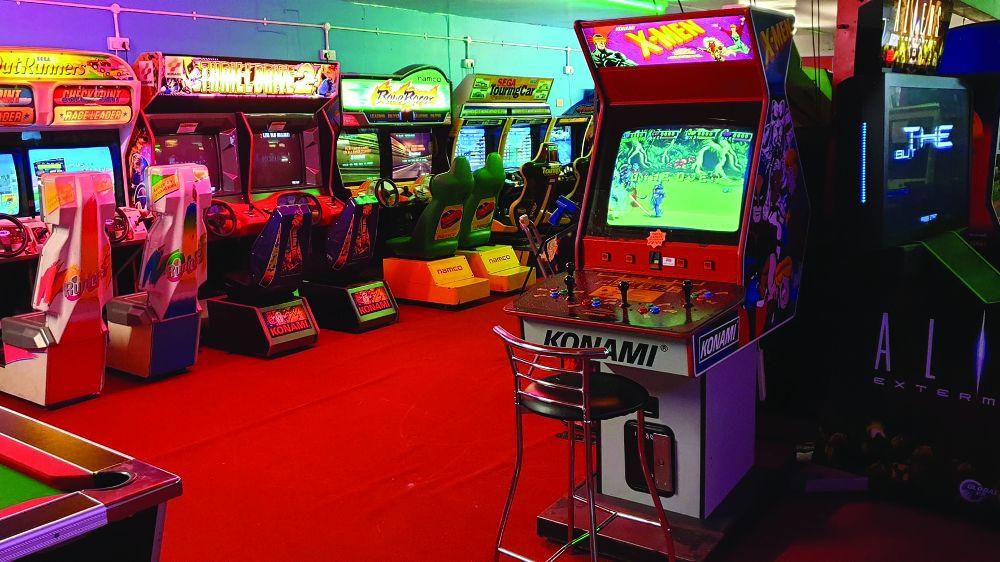 Retro arcade covid-19 closure