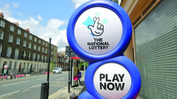 Camelot National Lottery ticket sales