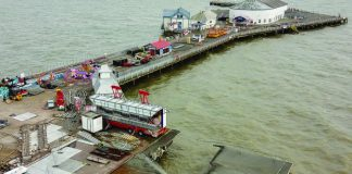 Clacton Pier granted MMO licence for deck repair