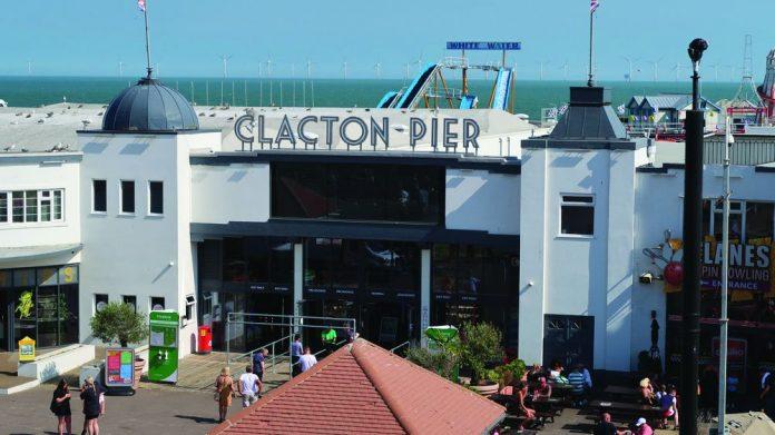 Clacton Pier maintenance programme