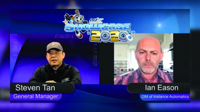 Ian Eason Instance Automatics UNIS 2020 online