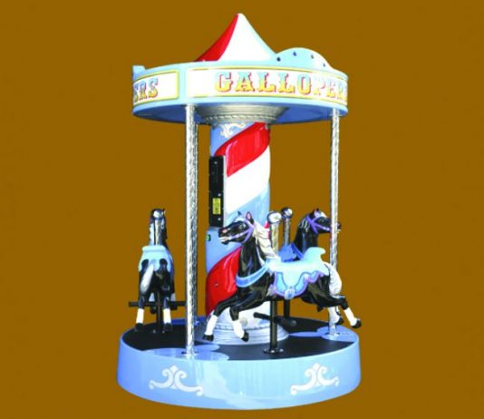 Jolly Roger JET Partnership Gallopers Kiddie Rides