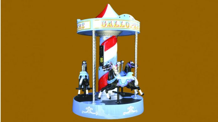 Jolly Roger JET Partnership Gallopers Kiddie Rides