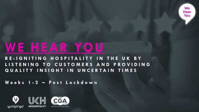 UKHospitality CGA consumers survey