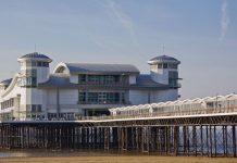 Weston Grand Pier charity xmas