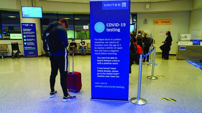 Airport testing UKinbound UK tourism