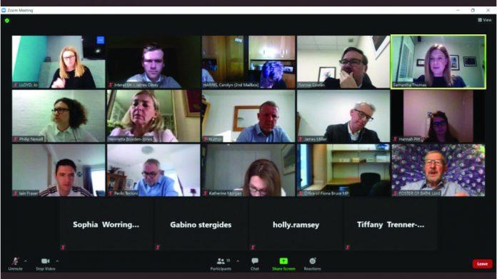 Bacta Zoom meeting